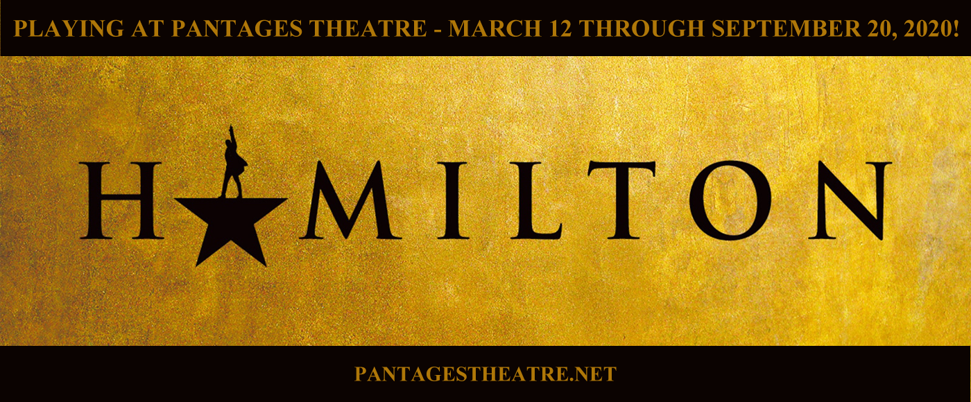 pantages theater hamilton tickets