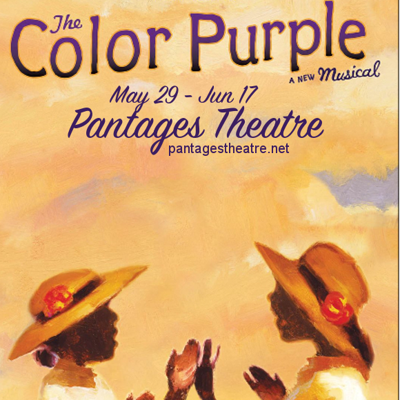 the color purple musical pantages theatre