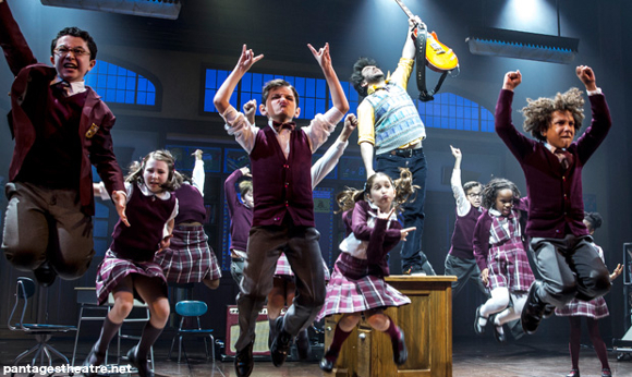 school of rock the musical live broadway pantages theatre