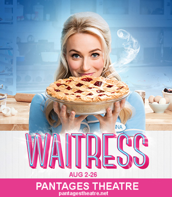 waitress musical broadway pantages theatre tickets