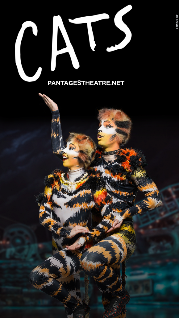 cats musical buy tickets pantages theatre