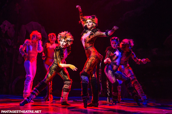 cats pantages theater