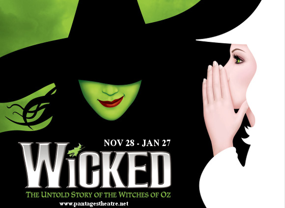 wicked musical pantages theatre get tickets