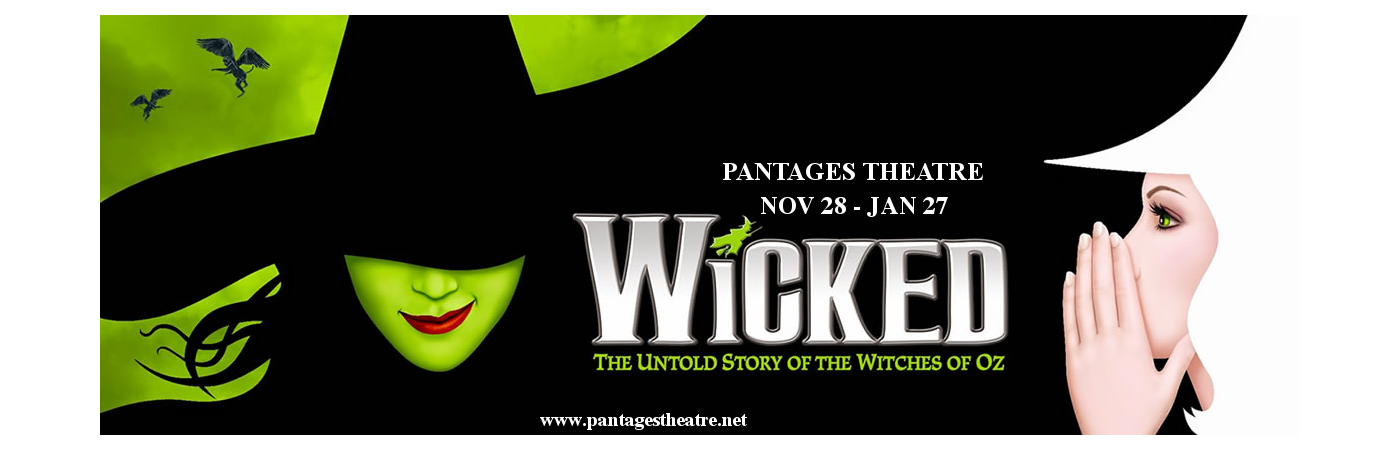 wicked musical tickets broadway pantages theatre