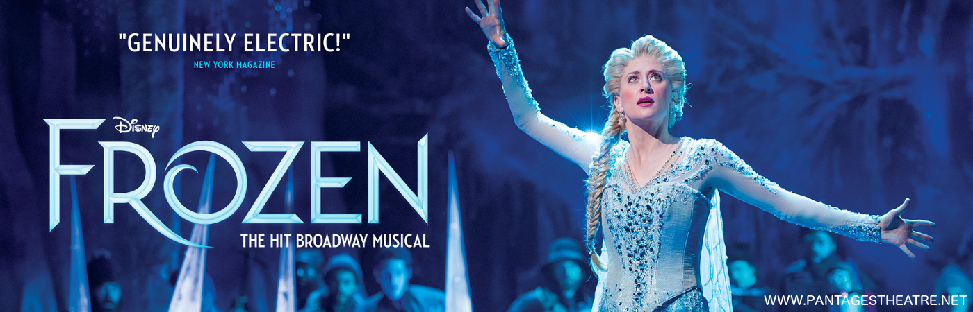 pantages theatre frozen tickets