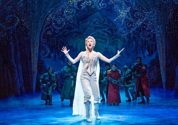 Frozen - The Musical at Pantages Theatre