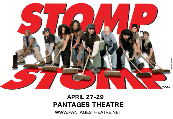 Stomp at Pantages Theatre