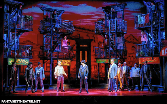 a bronx tale pantages theatre broadway musical