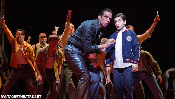 a bronx tale pantages theatre tickets