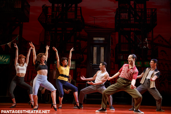a bronx tale pantages theater