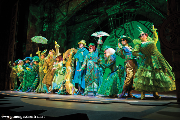 wicked musical broadway pantages theater