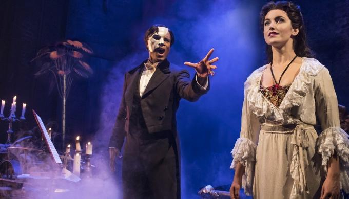 The Phantom Of The Opera at Pantages Theatre
