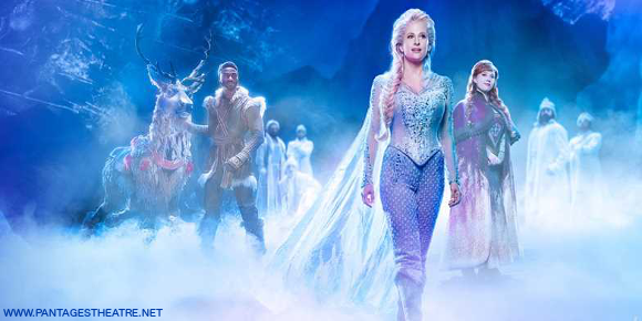 frozen broadway live on stage